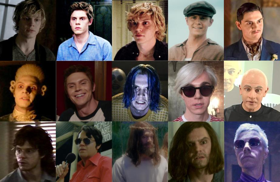 Evan Peters em American Horror Story - AHS 1984