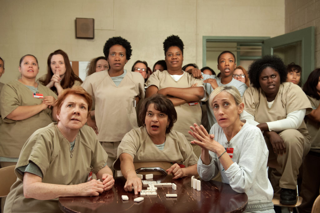 cena da 3ª temporada de Orange is The New Black