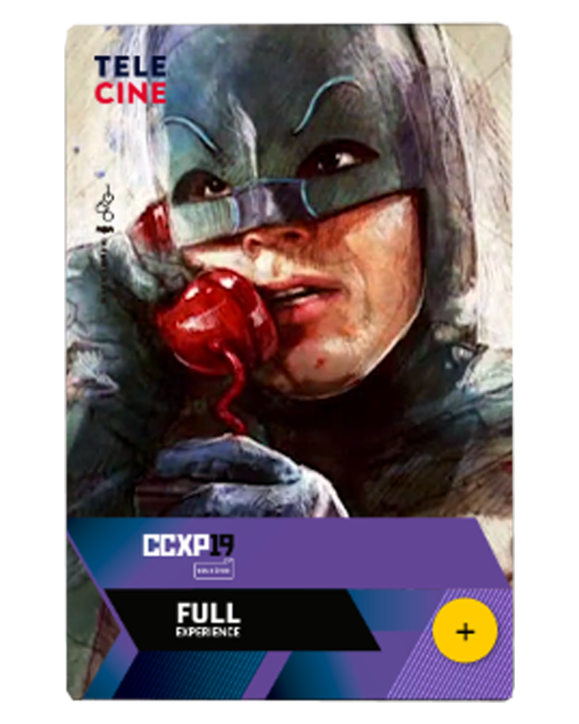 Cartaz FULL EXPERIENCE - CCXP 2019 - Batman
