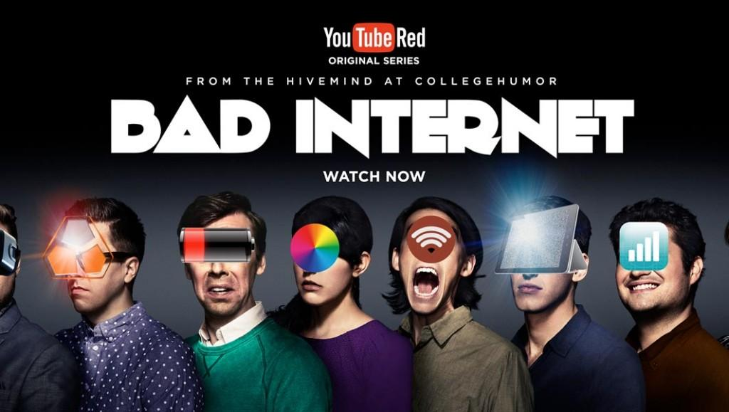 Bad Internet- séries para assistir no YouTube
