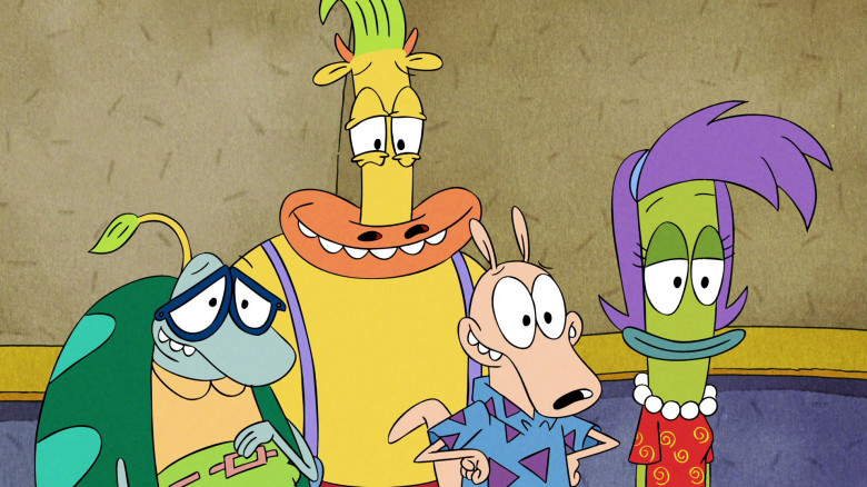 Personagens do filme A Vida Secreta de Rocko.